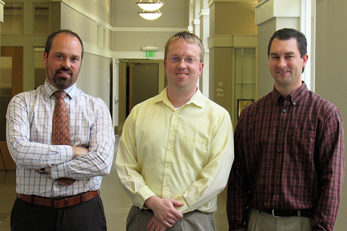Joel Brehm – Director of User Experience & Design, Timothy Savage – Managing Director, Shane Kimbrough – Director of Client Services