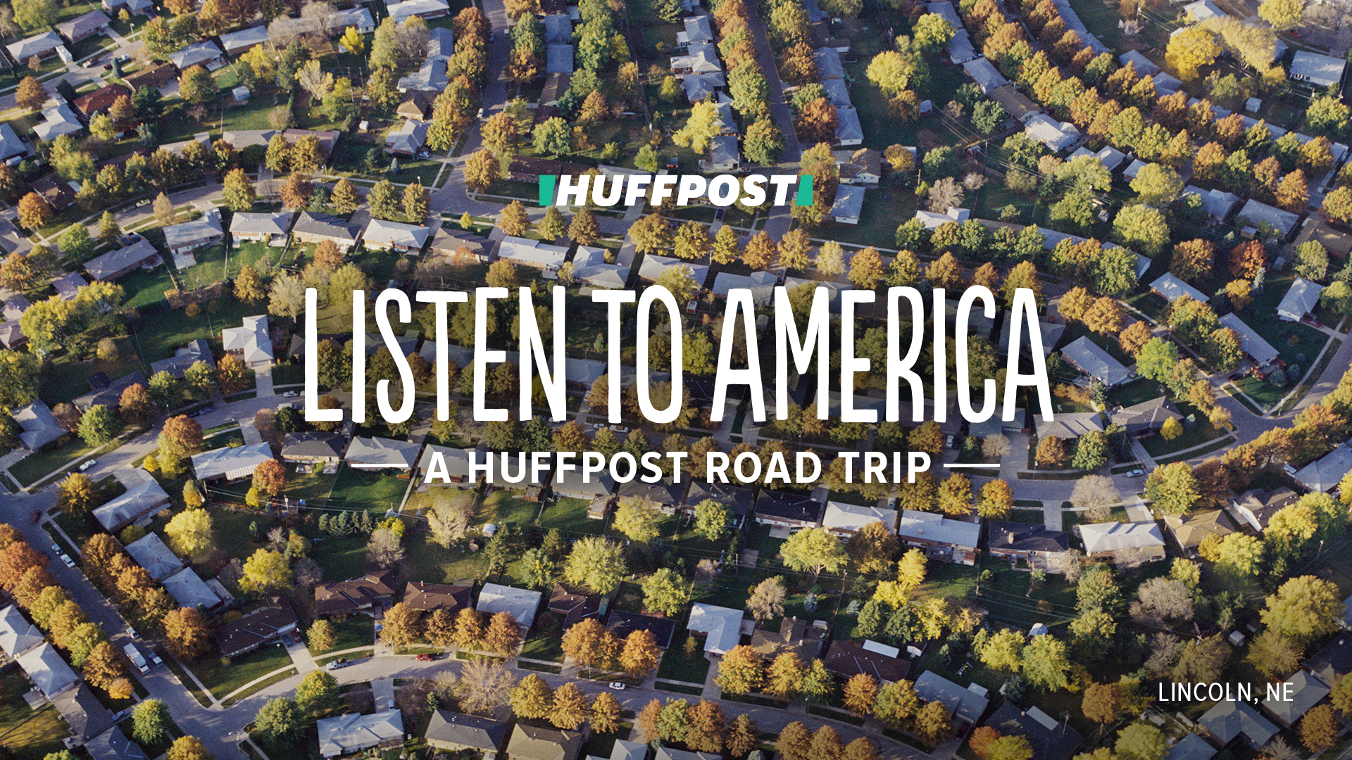 HuffPost Listen to America Bus Tour Graphic