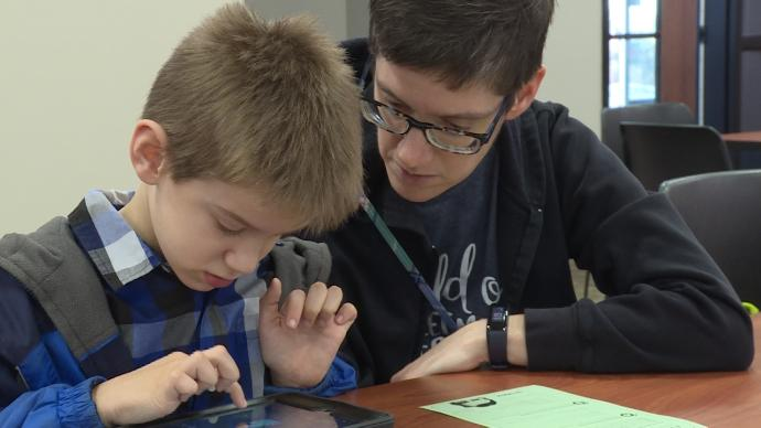 Hour of Code took place at the Nebraska Innovation Campus Conference Center on Saturday, December 7.