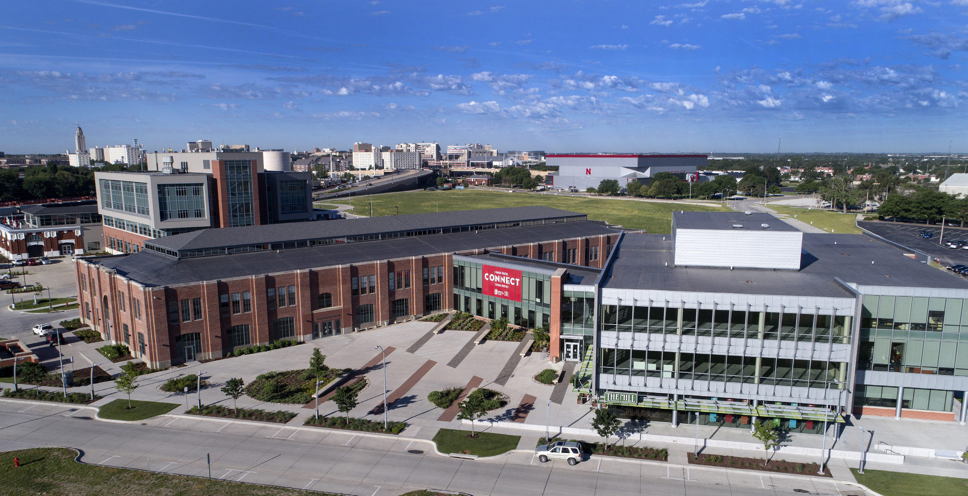 Nebraska Innovation Campus Aerial Photo