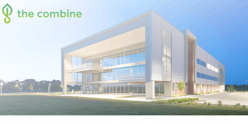 The Combine Incubator is housed in the Rise Building at Nebraska Innovation Campus.