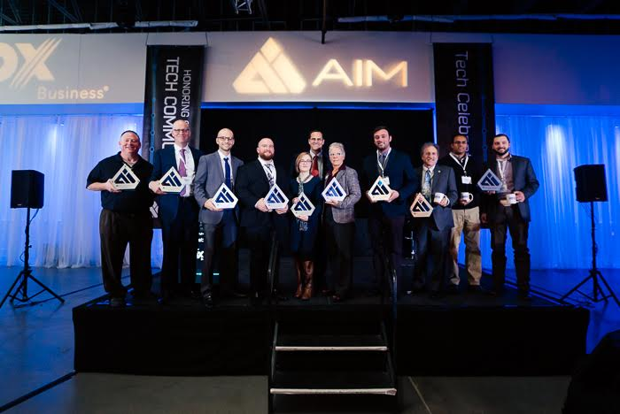 AIM Tech Celebration Award Winners